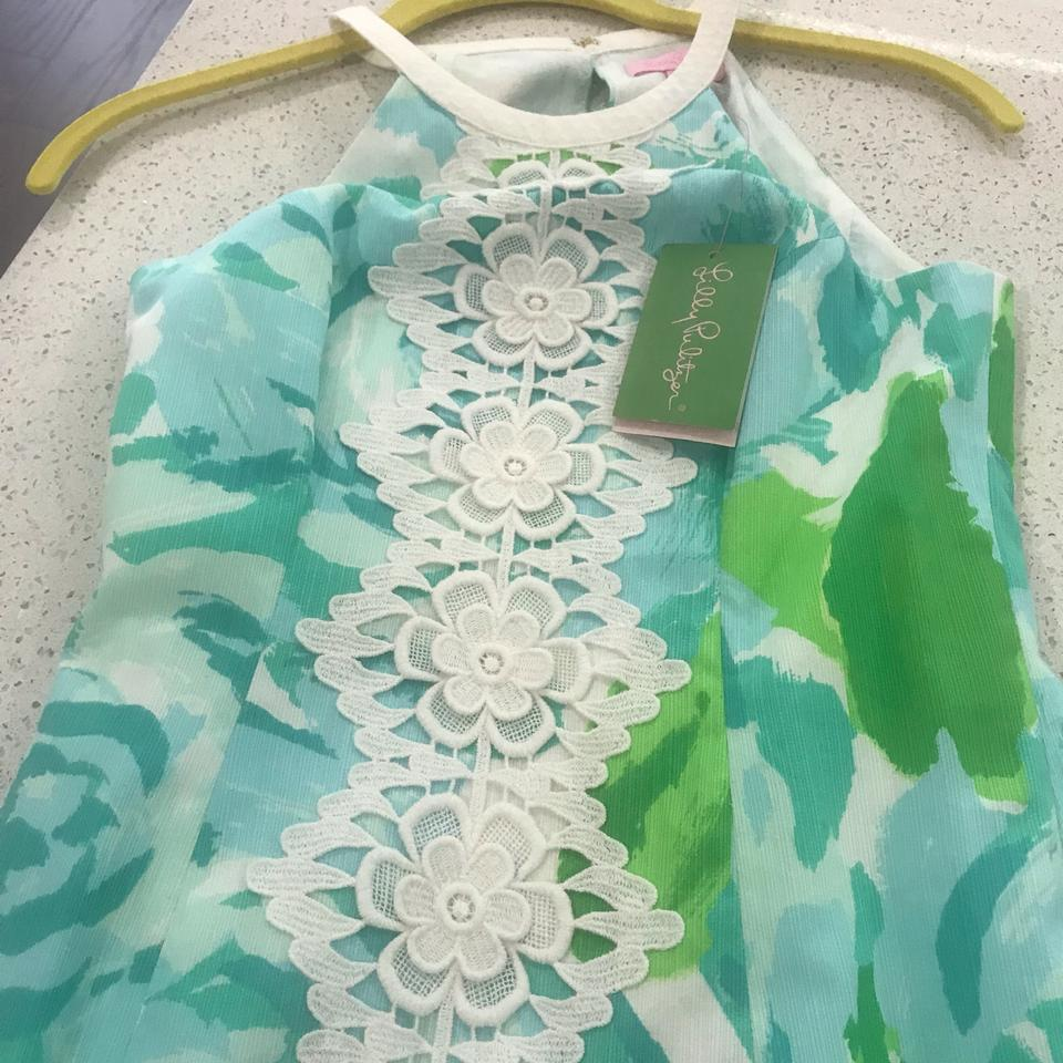 11a23917f37d56 Lilly Pulitzer short dress Poolside Blue on Tradesy Image 6. 1234567