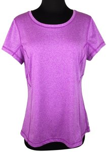 Tek Gear Tek Gear L Purple Pink Activewear Top Short Sleeve Athletic Fitness