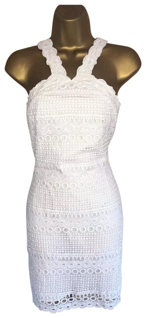 Item - White Sexy Short Cocktail Dress Size 2 (XS)