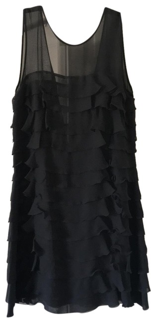 Preload https://img-static.tradesy.com/item/25254475/marc-by-marc-jacobs-gray-ruffled-short-cocktail-dress-size-8-m-0-1-650-650.jpg