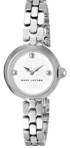 Marc Jacobs New Marc Jacobs MJ3456 Courtney Silver Dial Stainless Steel Women's Watch