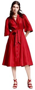 red Maxi Dress by Brooks Brothers
