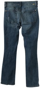 DL1961 Distressed Ripped Straight Leg Jeans-Distressed