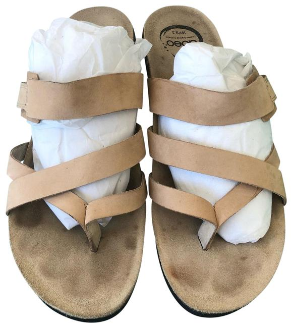 ABEO Taupe/Tan Sandals Size EU 40 (Approx. US 10) Regular (M, B) ABEO Taupe/Tan Sandals Size EU 40 (Approx. US 10) Regular (M, B) Image 1