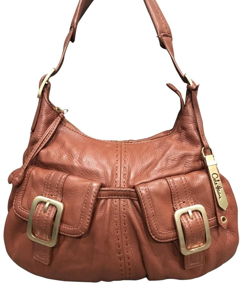 f6b67d4c5c Cole Haan Pebbled Brown Leather Hobo Bag - Tradesy