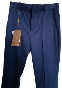 0d3c23a8c Gucci Flare Pants Deep blue   Navy