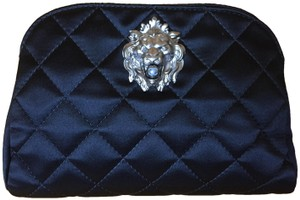Chanel Lion Lion Pearl Pearl Black Clutch