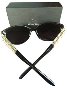 Christian Dior Christian Dior LIMITED EDITION Black Crystal Sunglasses
