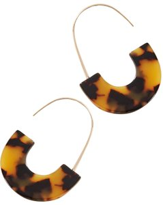 Anthropologie Half Hoops