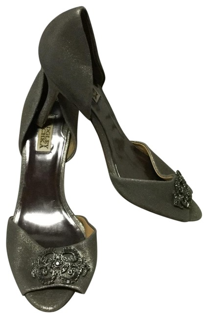 Item - Pewter Lacie D'orsay Leather Heels Formal Shoes Size US 10 Regular (M, B)