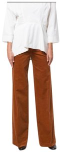 Tory Burch Wide Leg Pants Baked Clay