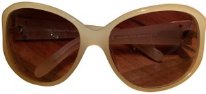 Juicy Couture White Frame Juicy Couture Sunglasses