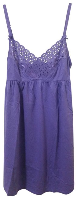 Item - Purple XS New Vs Babydoll Lounge Sleep Cami Slip Tunic Size 2 (XS)