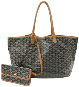Goyard Shopper Neverfull Saint Louis Louie Tote in Black