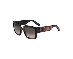 "Dior Dior Brown New Christian ""My 1n"" Luxury Designer Sunglasses New"