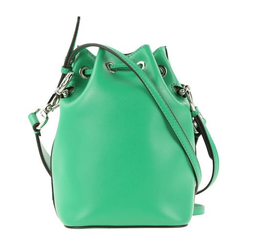 Fendi Rockstud Studded Classic Quilted Fanny Satchel in Green Image 2