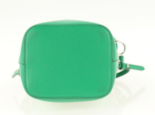 Fendi Rockstud Studded Classic Quilted Fanny Satchel in Green Image 4