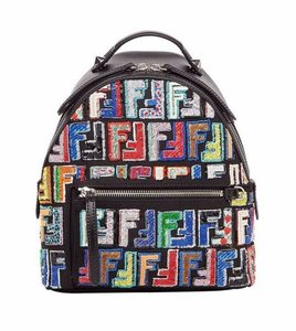 1a46f48795e1 Fendi Rockstud Studded Classic Quilted Fanny Backpack