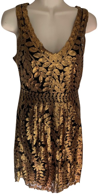 Item - Gold Project Alabama Short Cocktail Dress Size 0 (XS)