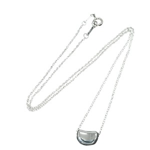 Tiffany & Co. Tiffany & Co. 925 Sterling Silver 10 mm Bean Necklace Pendant