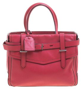 Reed Krakoff Leather Satchel in Pink