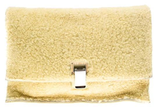 Preload https://img-static.tradesy.com/item/25258727/proenza-schouler-shearling-small-lunch-yellow-leather-clutch-0-1-540-540.jpg
