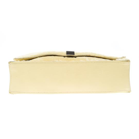Proenza Schouler Leather Yellow Clutch Image 4
