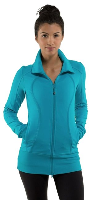 Item - Turquoise Blue Stride In Burshed Surge Activewear Outerwear Size 10 (M)