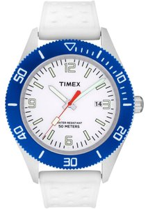 Timex Timex Male Casual Watch T2N535 White Analog