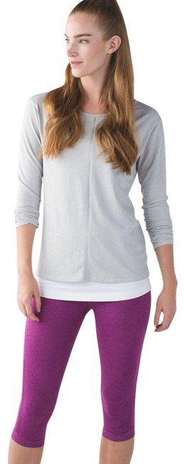 Item - Purple Seamless In The Flow Leggings Activewear Bottoms Size 6 (S, 28)