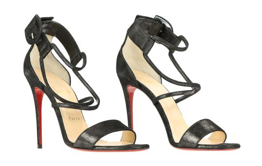 Christian Louboutin Black Sandals Image 1