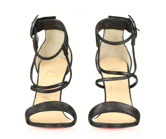Christian Louboutin Black Sandals Image 4
