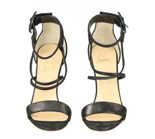 Christian Louboutin Black Sandals Image 5