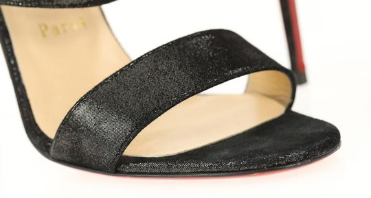 Christian Louboutin Black Sandals Image 7