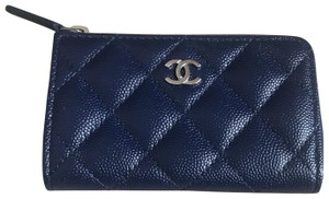 2fdad21eab54 Blue Chanel Wallets - Up to 70% off at Tradesy