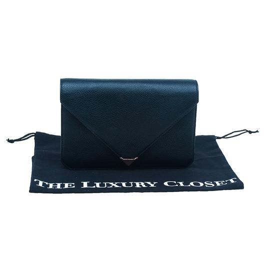 Alexander Wang Leather Black Clutch Image 10