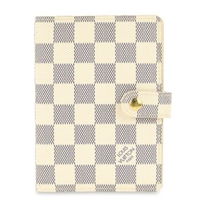 Louis Vuitton Louis Vuitton Damier Azur Small Ring Agenda Cover