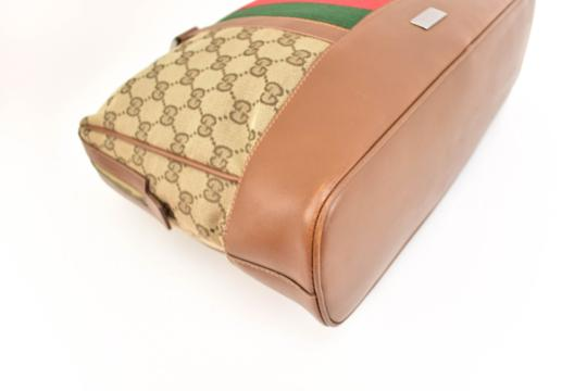 Gucci Gg Web Stripe Supreme Logo Tote in Limited Edition Image 6