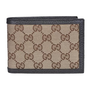 0479c8e3a903 Gucci GG Original Canvas Leather Bifold Wallet (short small size)