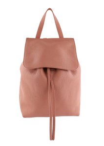 Mansur Gavriel Leather Suede Gold Hardware Backpack