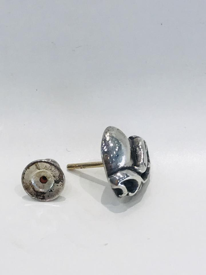 c5538a8d596f Chrome Hearts Silver Ch Stud Earrings Image 5. 123456
