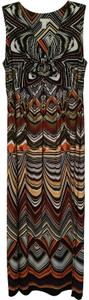 Black, lime green, golds, blood red, white, orange, and more Maxi Dress by Chico's Easy Care