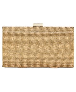 INC International Concepts Gold Clutch
