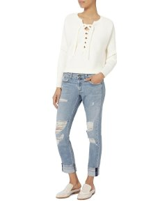 Rag & Bone Capri/Cropped Denim-Distressed