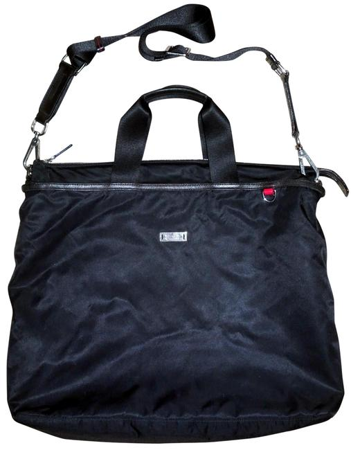Item - Duffel Travel with Removable Shoulder Strap Black Nylon Tote