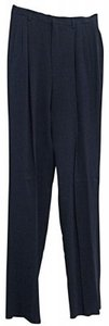 Corbin Dress Hem Trouser Pants Navy Blue