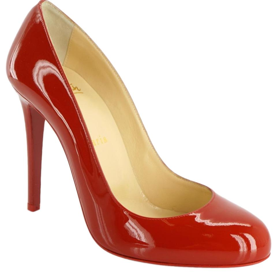 645a656b25 Christian Louboutin Almond Toe High Heels Classic Red Pumps Image 0 ...