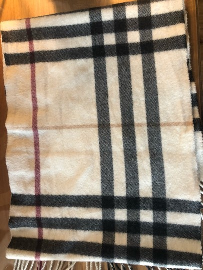 Burberry Classic check cashmere scarf Image 2