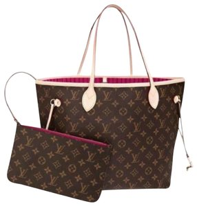 d526dcec935a Louis Vuitton Neverfull Luxury Monogram Limited Edition European Tote in  Brown