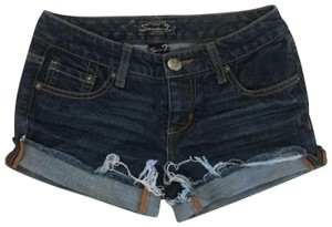 Seven7 Denim Shorts-Dark Rinse